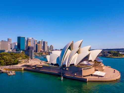 viajes sin visa, Australia